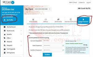 How to change password of OnlineSBI.Com Password