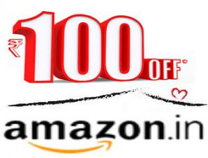 Amazon Rs 100 Coupon