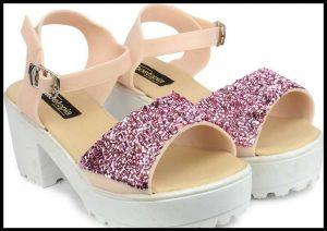 Shoetopia Women Pink Heels