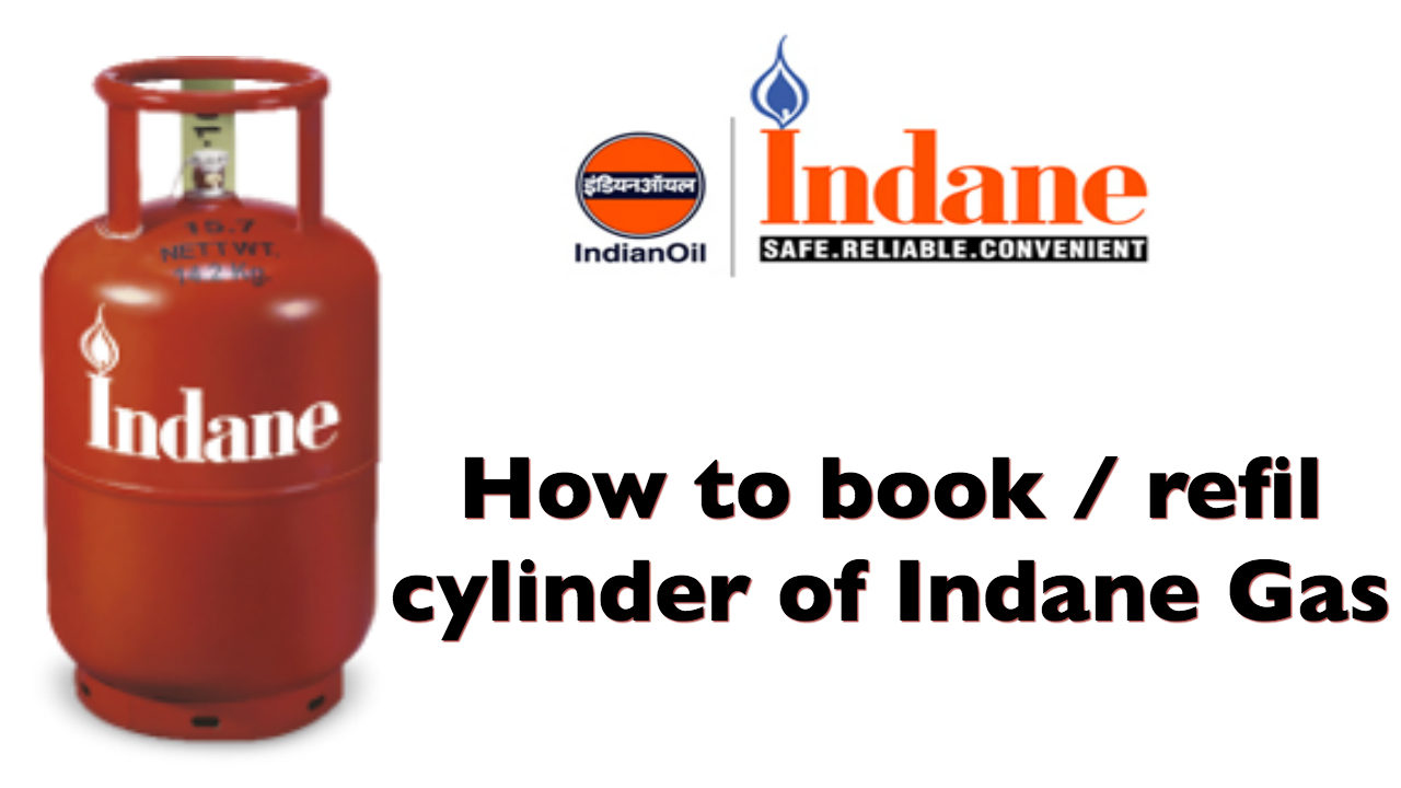 How to book / refill Indane LPG Cylinder Online (Website)