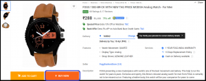 Flipkart Order Placement