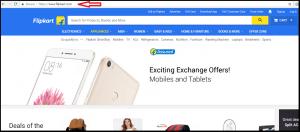 Flipkart Homepage