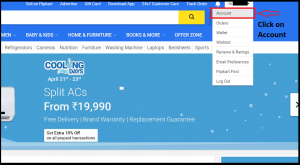 Flipkart Account