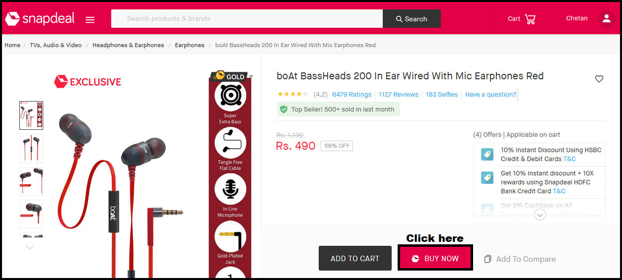 dac72beb923 How to place an order on Snapdeal.com  (App Website) - Best Way with ...