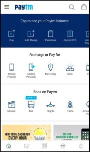 How to book bus ticket through paytm mobile app?