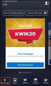 Mobikwik App DTH Recharge