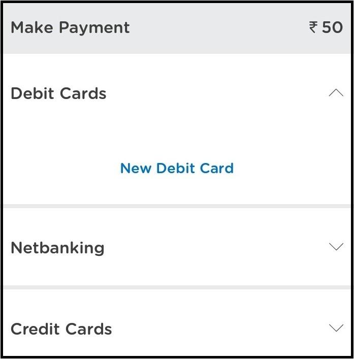 Mobikwik app online payment