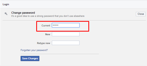 how-to-change-facebook-password