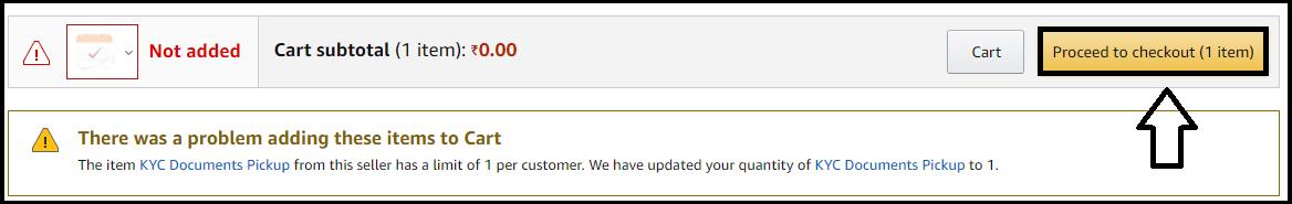 Amazon Pay KYC