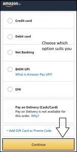 amazon ordering