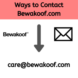 Ways to Contact Bewakoof.com
