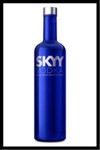 SKYY Vodka Top 10 Vodka Brands in US