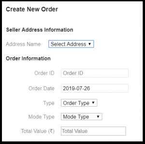 How to create new order on Shyplite?