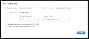 How to calculate weight in Shyplite Price Calculator?