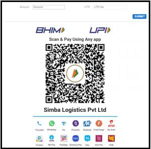Shyplite payment through UPI