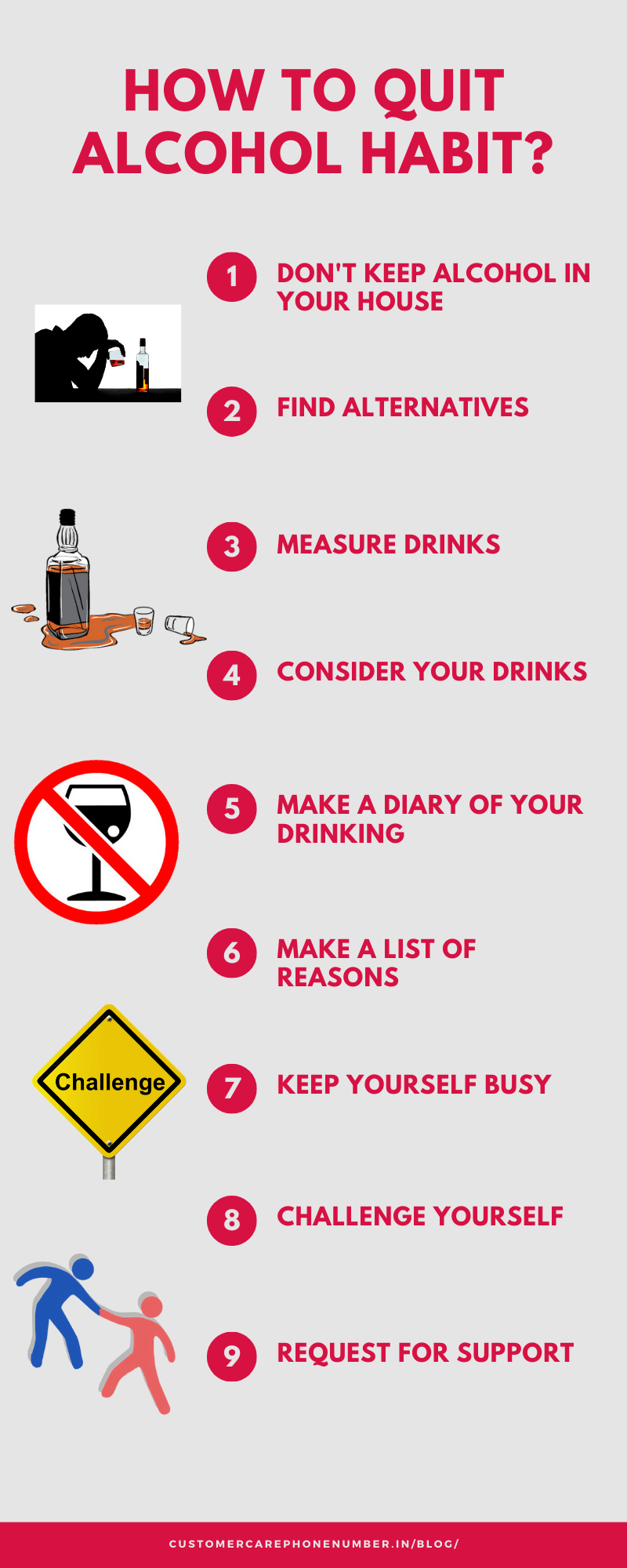 How to Quit Alcohol Habit, ways to cut alcohol, how to get rid of alcohol bad habit