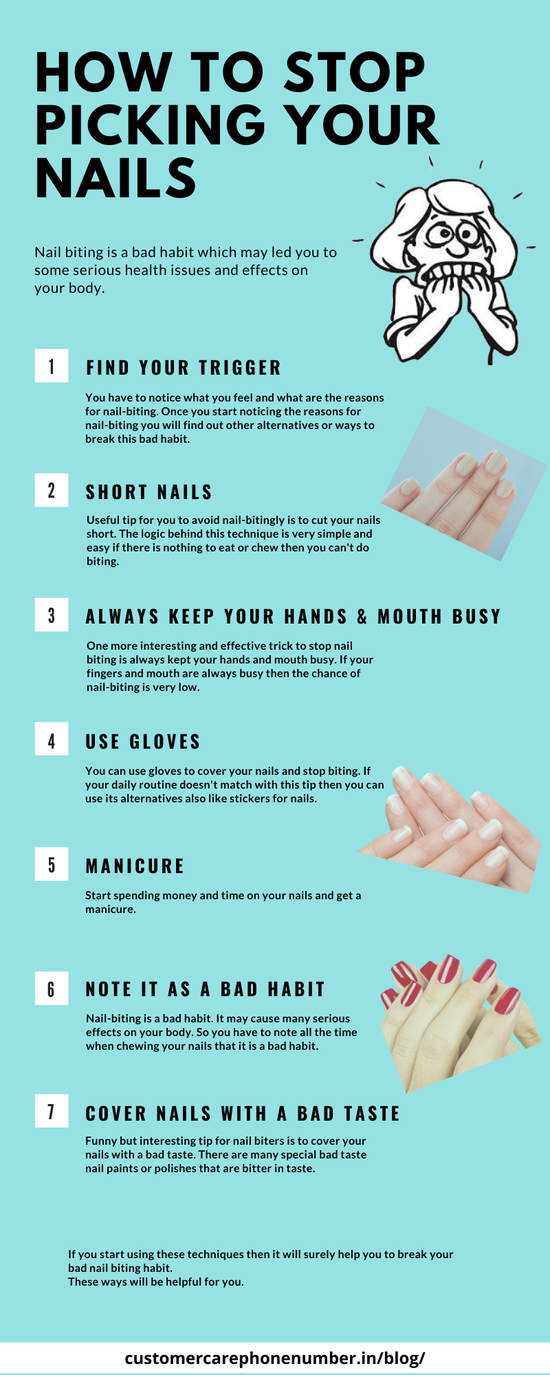 Nail Biting, How to Stop Picking Your Nails, How to Stop Nail Biting