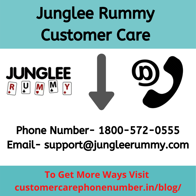 Junglee Rummy Customer Care, Ways to Contact