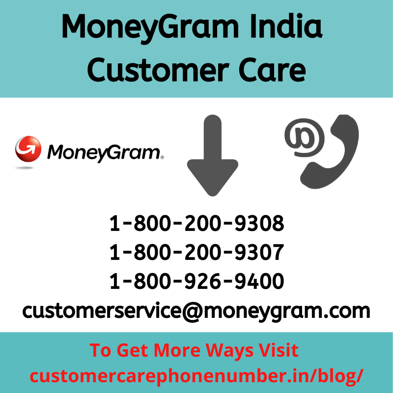 MoneyGram India Contact Number, Email ID, Toll Free