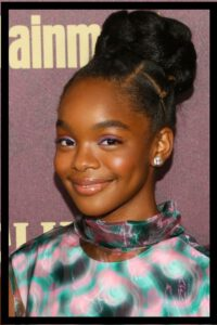 Sleek Updo Hairstyle for Black Girl