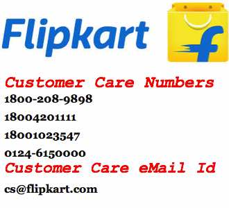 Flipkart Customer Care Numbers