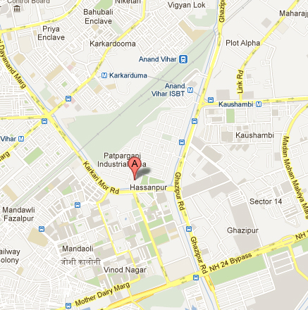 Govindam Business School Location Map