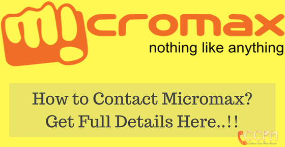 Micromax Toll Free Helpline Phone Number Customer Care