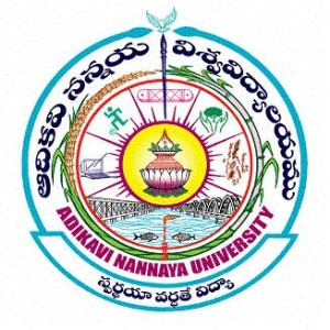 Adikavi Nannaya University Logo