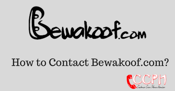 bewakoof com office address  phone number  customer care email