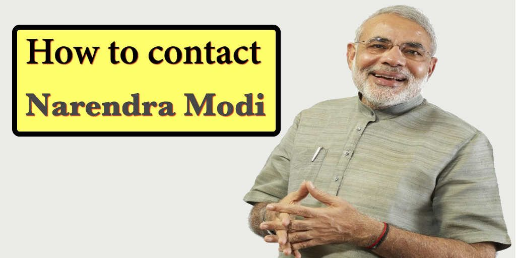 How to contact Narendra Modi head office address, phone number, email ID, website