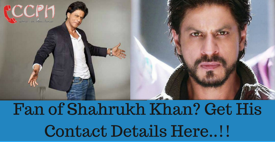 Shahrukh Khan House (Mannat) / Office Address, Phone Number, Email
