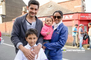 Mahesh Babu With Family (Wife, Son & Daughter)