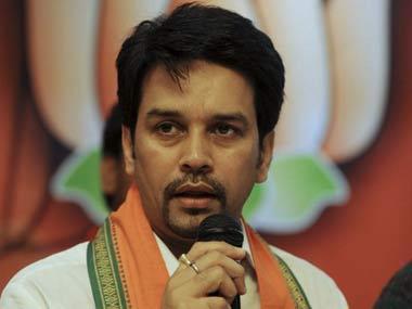 Anurag Thakur BJP