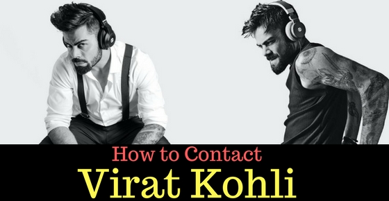 Virat Kohli Image How to Contact the Cricketer Virat Kohli