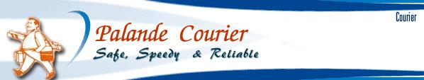 Palande Courier Company Logo