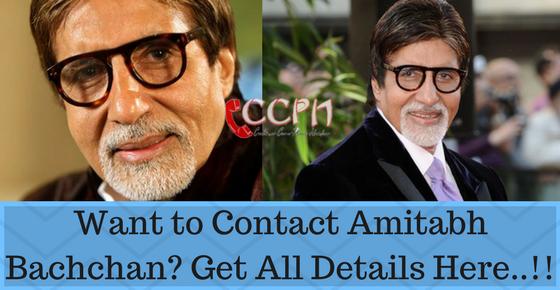 Amitabh Bachchan Mumbai House Address, Phone Number, Email