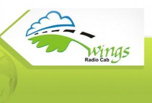 Wings Radio Cab logo
