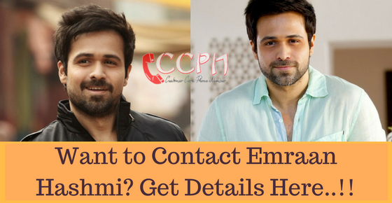 Emraan Hashmi Contact Address, Phone Number, Email Id
