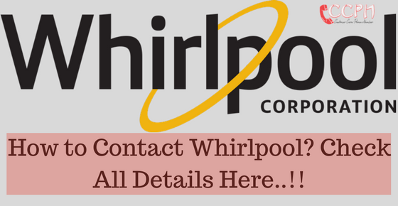 Exceptional Whirlpool Offices Contact Details