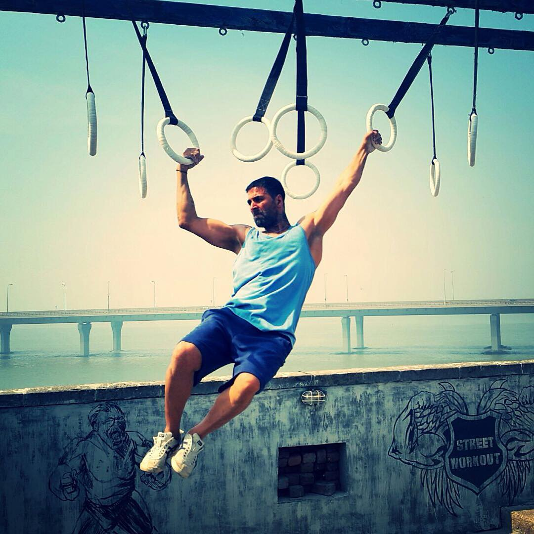 Akshay Kumar Workout Picture