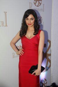 Divya Kumar Khosla in red dress