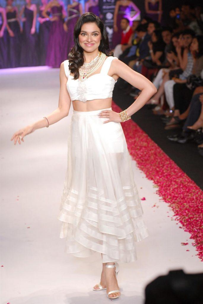 Divya Kumar Khosla in white dress