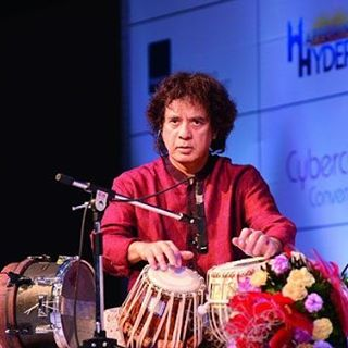 Zakir Hussain HD Wallpaper