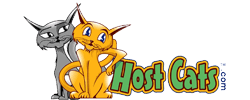 Host Cats Logo