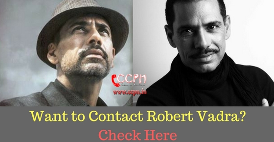 Contact  Businessman Robert Vadra HD Image