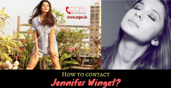 Contact Beautiful Talented Television Actress Jennifer Winget HD Image