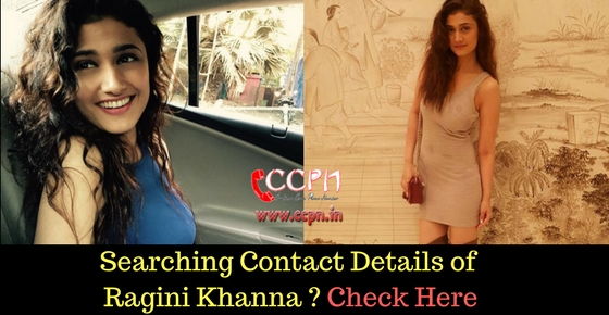 Contact Talented TV Actress Ragini Khanna Image