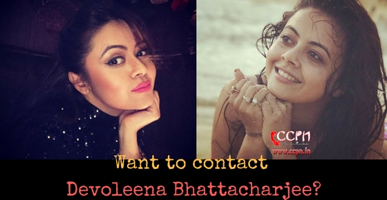 Want to contact TV Actress Devoleena Bhattacharjee aka Gopi Bahu Image