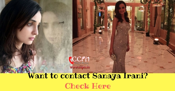 Contact Talented TV Actress Sanaya Irani  HD Image