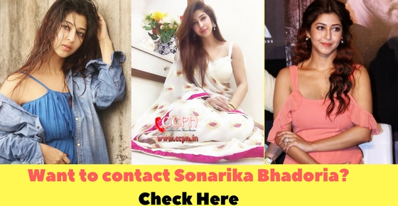 contact details of  Talented TV Actress Sonarika Bhadoria Image